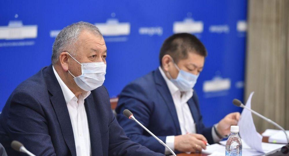 Биринчи вице-премьер-министр Кубатбек Боронов