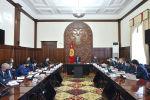 Совещание с участием премьер-министра КР Мухаммедкалыя Абылгазиева