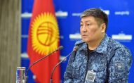 Архивное фото коменданта Бишкека Алмаза Орозалиева