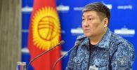 Бишкек шаарынын коменданты Алмаз Орозалиев. Архивдик сүрөт