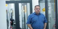 Юрист Владимир Плужник в редакции Sputnik Кыргызстан