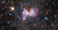 Звездная колыбель, находящаяся на окраине туманности Тарантул. Архивное фото