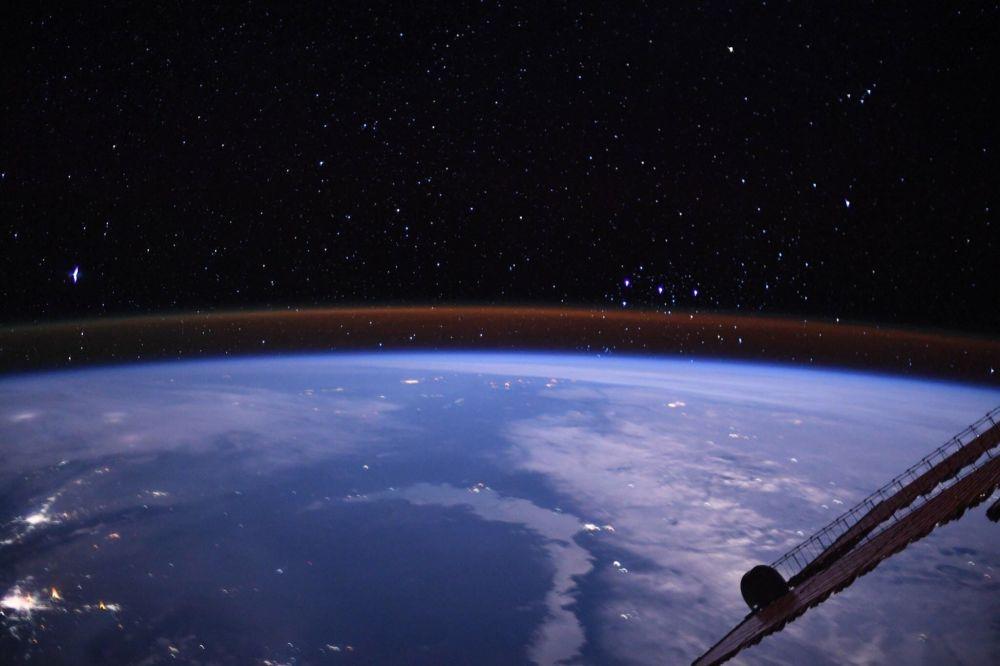 Вид на Землю с борта МКС