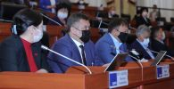 Жогорку Кеңештин депутаттары. Архивдик сүрөт