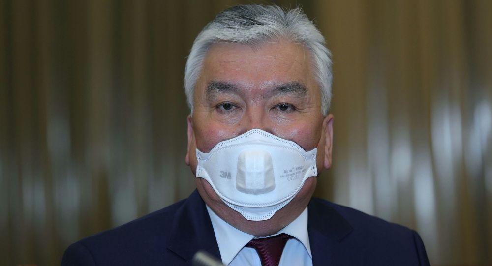 Кыргызстандын саламаттык сактоо министри Сабиржан Абдикаримов. Архивдик сүрөт