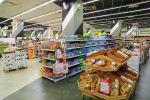 Супермаркет Виктория в Калининграде. Калининградская область переходит с 31 марта на режим самоизоляции из-за коронавируса.