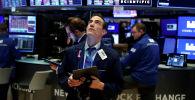 Нью-Йорктогу фондулук биржа. Архивдик сүрөт