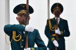 Солдаты нацгвардии почетного караула