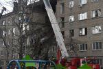 Орехово-Зуево шаарында беш кабаттуу үйдүн подъездинин урандылары