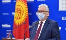 Министр здравоохранения КР Сабиржан Абдикаримов. Архивное фото