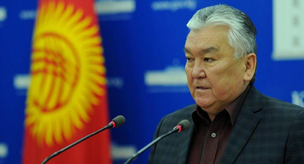 Саламаттык сактоо министри Сабиржан Абдикаримов