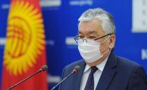 Саламаттык сактоо министри Сабиржан Абдикаримов. Архивдик сүрөт
