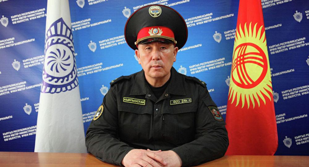 Ош коменданты Малик Нурдинов. Архивдик сүрөт