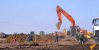 В Нур-Султане начали строить инфекционную больницу. Проект хотят закончить меньше, чем за месяц.