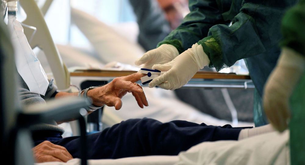 Ооруканадагы пациент. Архивдик сүрөт