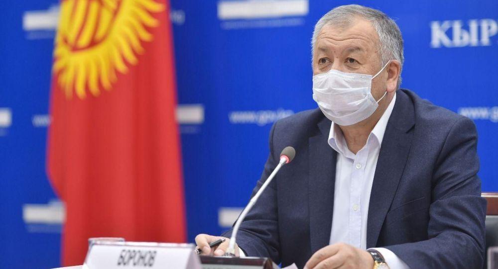 Первый вице-премьер-министр Кубатбек Боронов. Архивное фото