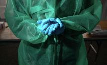 Медик аял. Архивдик сүрөт