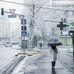 9-апрель күнү Бишкекке кар жаады