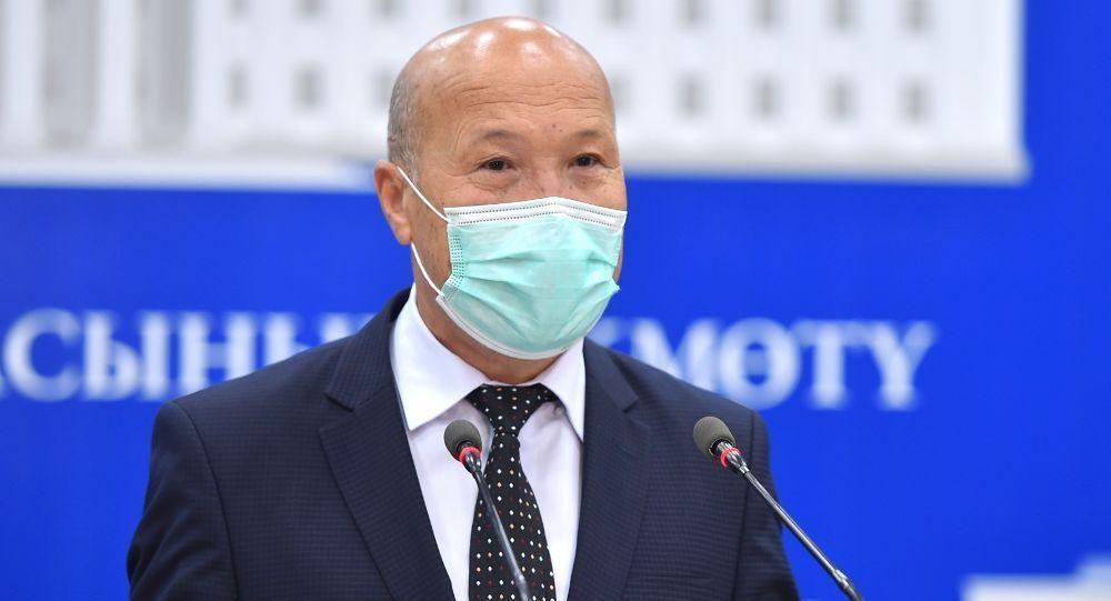 Заместитель министра здравоохранения Мадамин Каратаев. Архивное фото