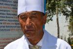 Директор Ноокатской территориальной больницы Ошской области Асамидин Марипов. Архивное фото