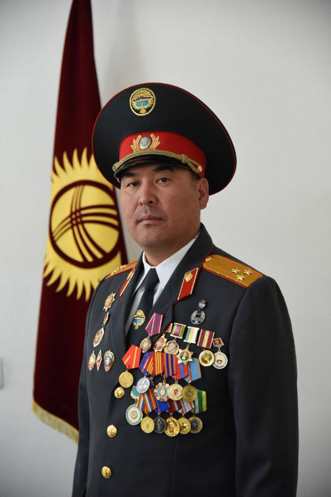 Нарын шаары жана Ат-Башы району боюнча мурдагы комендант Уланбек Аалиев