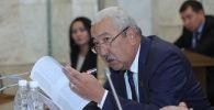 Депутат Жогорку Кенеша Исхак Масалиев. Архивное фото