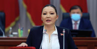Жогорку Кеңеш депутатынын мандатын алган Айгерим Бешимбаева
