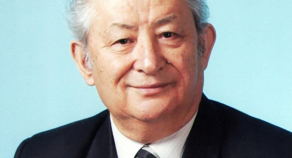 Народный учитель Кыргызской Республики Исак Бекбоев