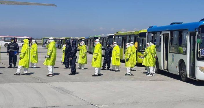 В Международном аэропорту «Манас» 17 апреля встретили чартерный рейс из Стамбула.