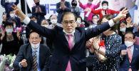 Бывший северокорейский дипломат Тхэ Ен Хо ставший депутатом южнокорейского парламента