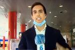 В Испании репортер телеканала Telecinco Лоренцо Диас случайно обнаружил у себя симптомы коронавируса, пытаясь показать, как работают тепловизоры — специальные устройства, которые позволяют быстро диагностировать у больных COVID-19.