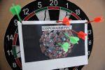 Плакат с коронавирусом. Архивное фотоорительного фонда Добро мира - Волонтёры Крыма в Симферополе.
