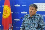 Комендант города Бишкек Алмаз Орозалиев на брифинге 20 апреля 2020 года
