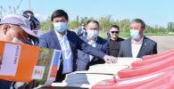 Премьер-министр Мухаммедкалый Абылгазиев Чүйдөгү жазгы талаа иштери менен таанышты