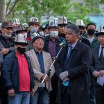 Экс-министр культуры, советник президента Султан Раев тоже выступил на церемонии прощания