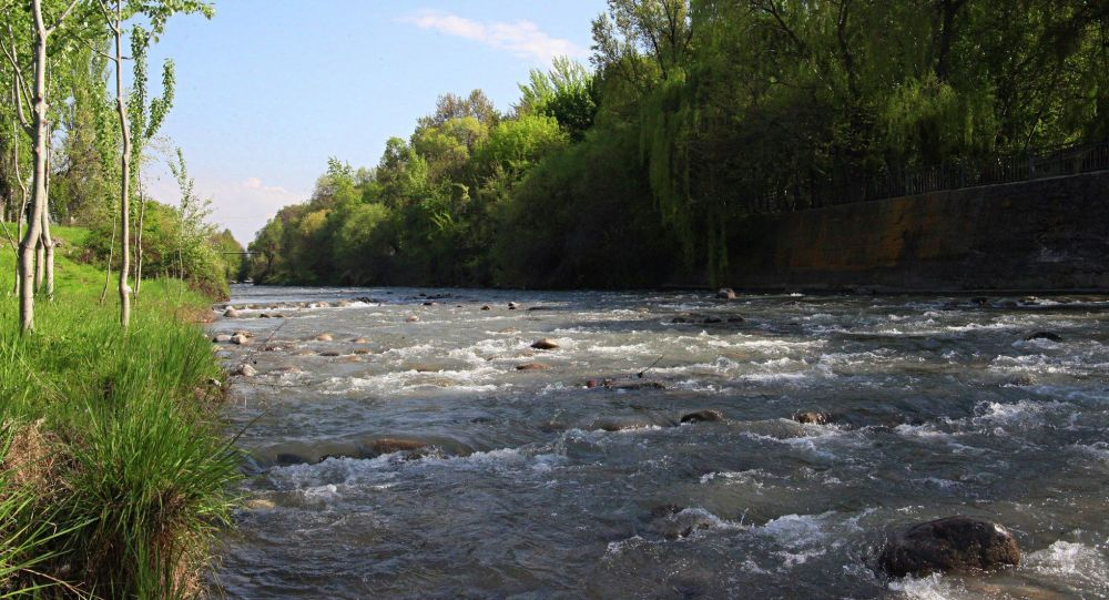 Ак-Буура дарыясы. Архивдик сүрөт
