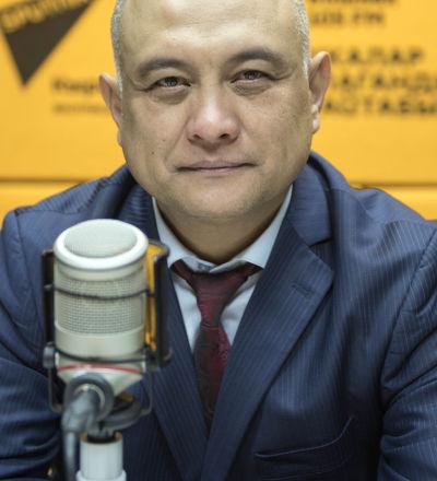 Директор республиканского центра крови Бакыт Карабаев. Архивное фото