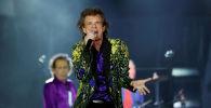 Вокалист группы The Rolling Stones Мик Джаггер. Архивное фото