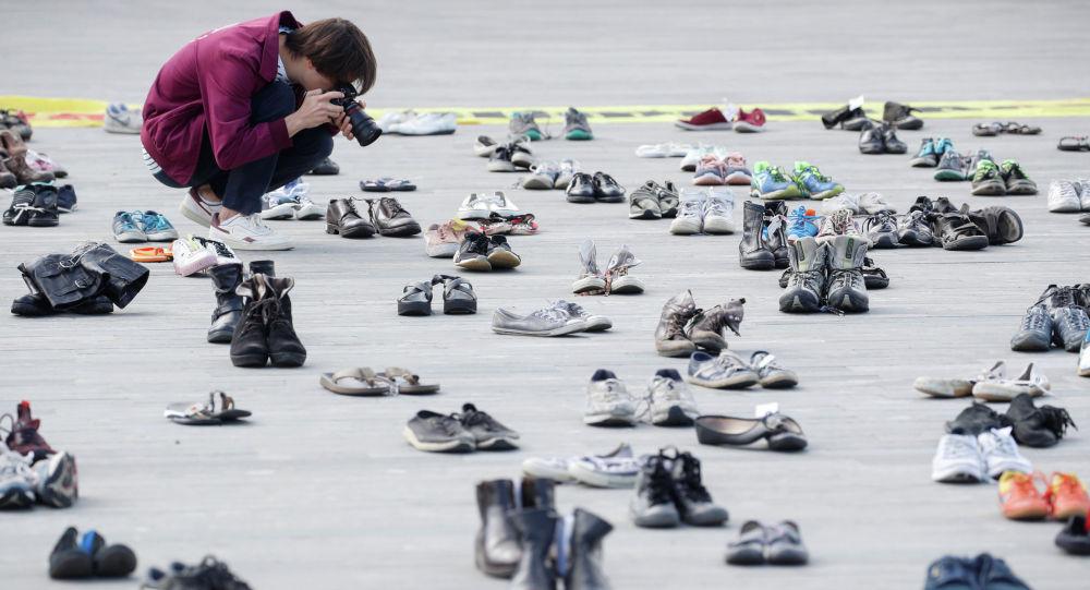 Обувь. Архивное фото
