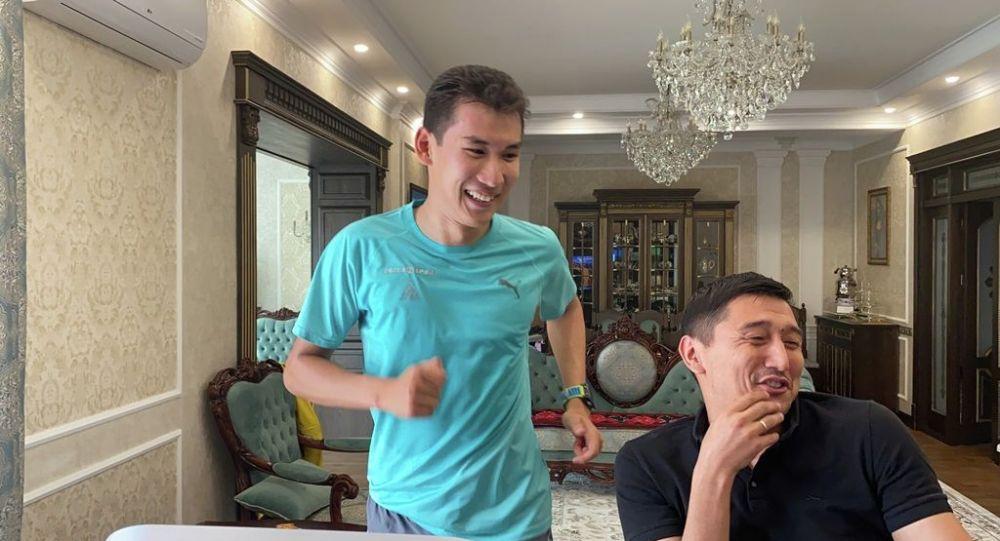 Кыргызстандык триатлет Айваз Оморканов