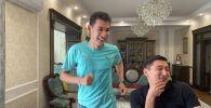 25 апреля абсолютный чемпион Кыргызстана по триатлону Айваз Оморканов преодолел полужелезную дистанцию в домашних условиях