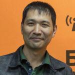 Председатель союза Кинематографистов Кыргызстана, режиссер Айбек Дайырбеков во время беседы на радио Sputnik