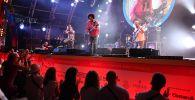 Выступление музыкантов на 17-м международном музыкальном фестивале Koktebel Jazz Party в Крыму. Архивное фото