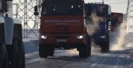 Камский автомобильный завод (КАМАЗ) успешно провел испытания беспилотных грузовиков в условиях Арктики.