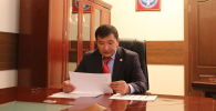 Полномочный представитель правительства в Таласской области Марат Мураталиев