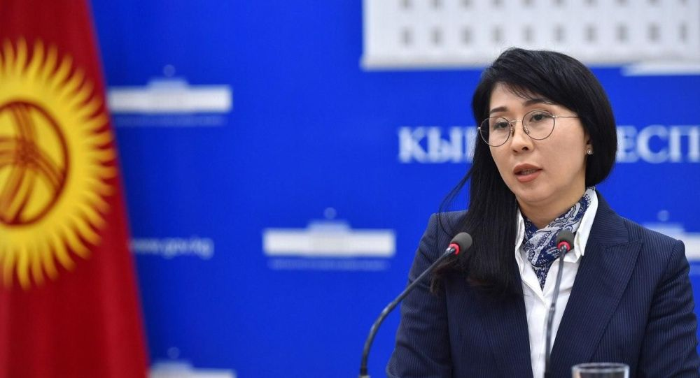 Мурдагы вице-прмеьер-министр Аида Исмаилова. Архив