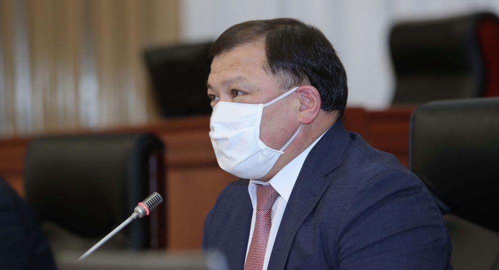 Спикер Жогорку Кенеша Дастан Джумабеков