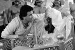 Риши Капур (слева) в роли Хасана и Саид Джафри (справа) в роли дочери визиря в советско-индийском  художественном фильме Черный принц Аджуба. Архивное фото