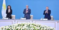 Президент Казахстана Касым-Жомарт Токаев и председатель парламента Казахстана Дарига Назарбаева. Архивное фото