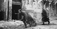 Советские войска в Берлине. Весна 1945 года.